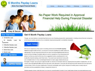 Get 12 Month Payday Loans Up to 1,000 with All Benefits