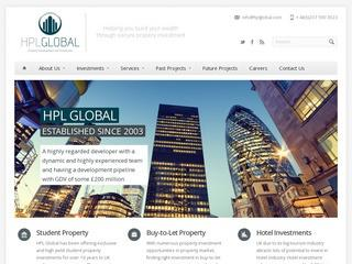 HPL Global - UK Student Accommodation Investment